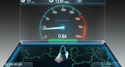 Test de débit SPEED TEST