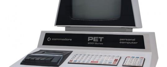 Commodore PET 2001 – 1977