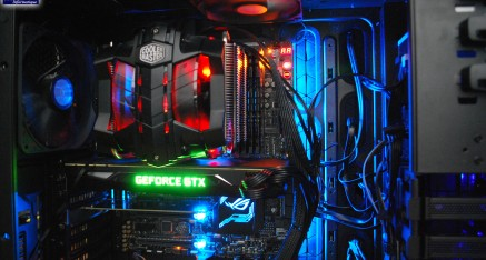 Le Dragon's Light, un PC de gamer par 2A à Zaide Informatique