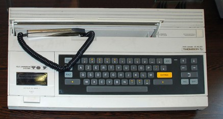 Thomson TO7 – 1982