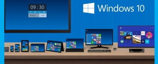 Windows 10 où en sommes nous ?