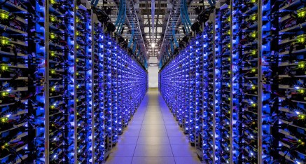 Visitez le data center de google en 360 degrés