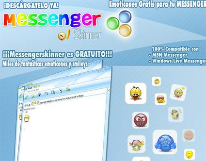 Messenger Skinner, un beau piège logiciel