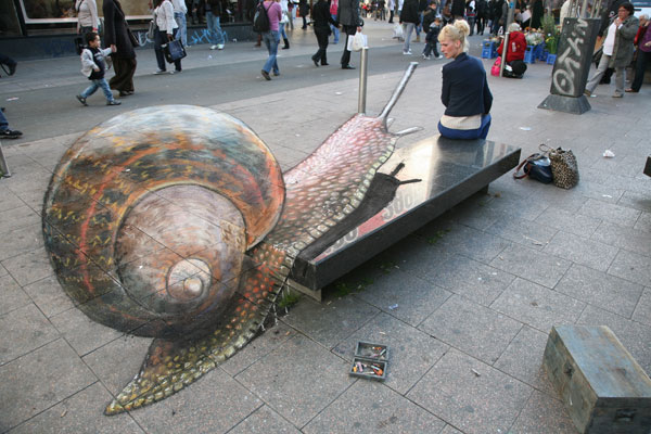 Arte callejero.  - Página 3 Snail-i
