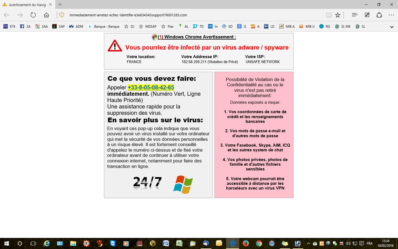 Fausse-alerte-virus-web