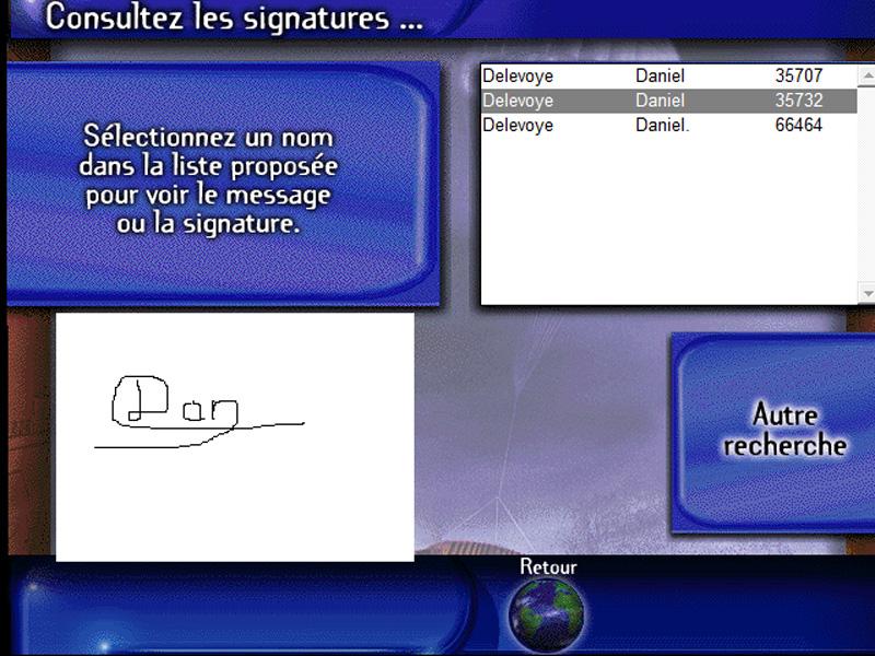 CASINI HUYGENS signature