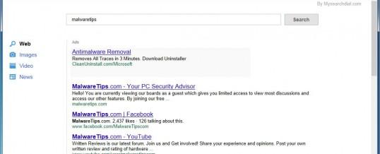 Faux moteur de recherche google mysearchdial