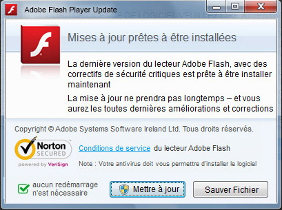 Telecharger adobe flash player mise a jour