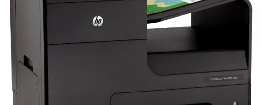Imprimante à jet d'encre ou laser ? une alternative de nouvelle génération la Gamme HP Officejet Pro Série X